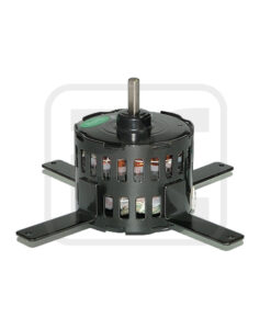 AC 3.3 Inch Two Shade Pole Motor 3000 RPM , Micro Fan Motor 115 V