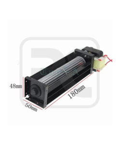 Compact Tangential Blower / Cross Flow Cooling Fan With Power Source Device , Projector , Copy Machine