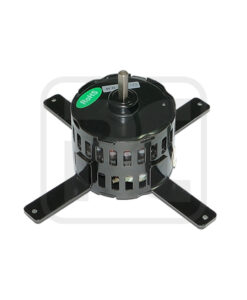 Single Phase Capacitor Motor , Mini Fan Motor 3.3 Inch for Ventilation