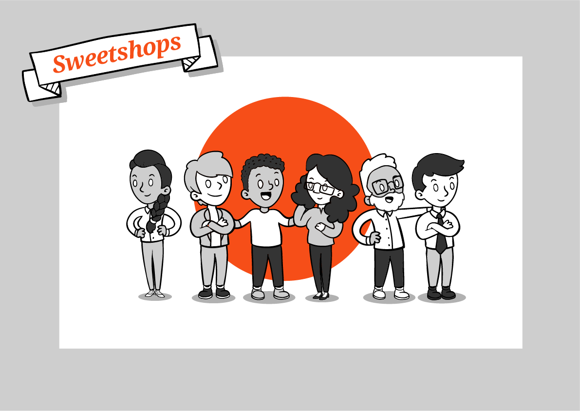 Sweetshops - Feel stronger engagement and enthusiasm | Get better results | Earn more