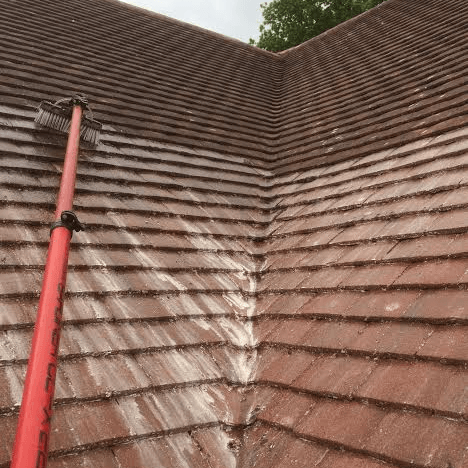 roof cleaning wetherby