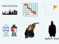 Ilustraciones Iconos para noticias y periodistas