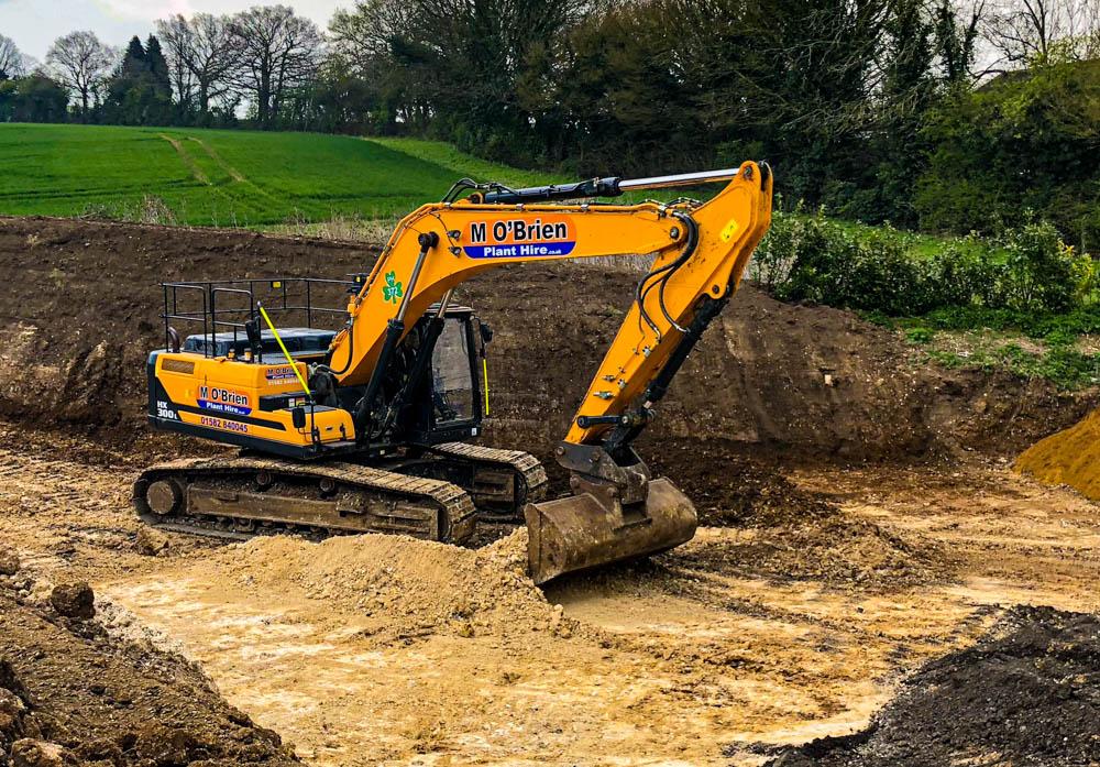 30T Excavator hire