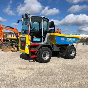 Dual View dumper hire DV60