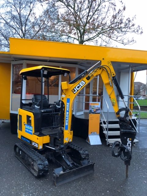 Electric JCB Excavator for hire