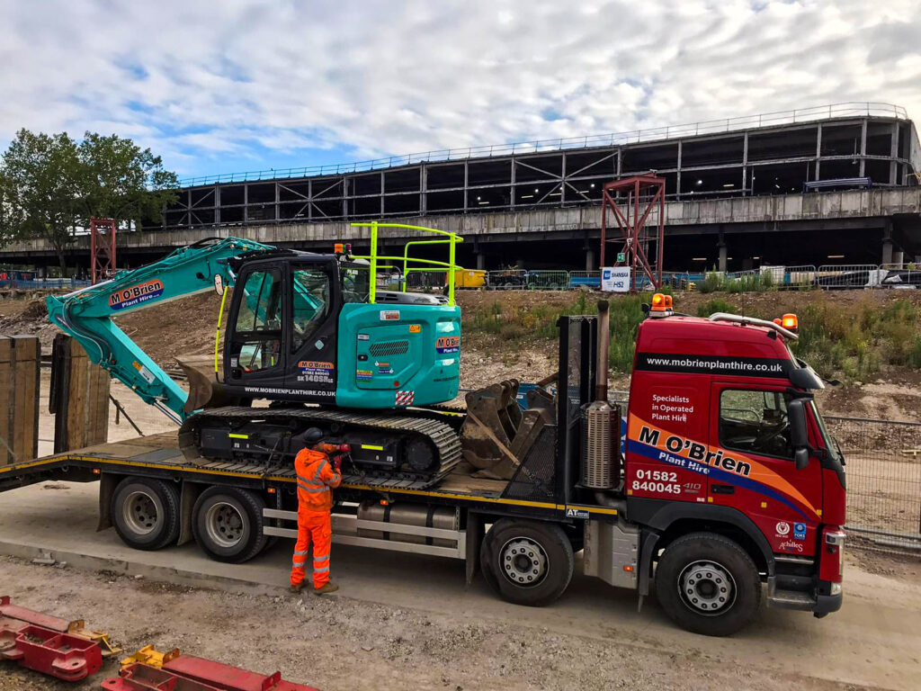 SK140 excavator from M O'Brien Plant Hire