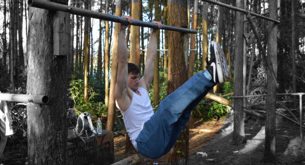 Hanging Leg Raises More Than Lifting Calisthenics Foundation Course Image