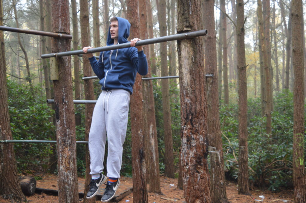 MoreThanLifting Pull Up High beginner isometric exercise