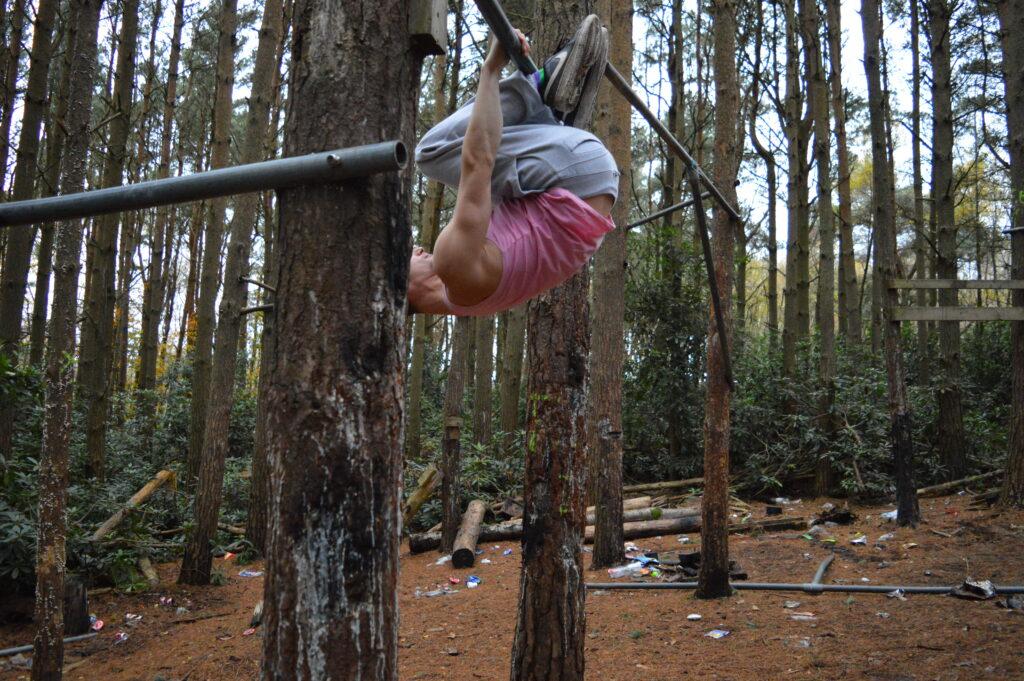 More Than Lifting Hanging Leg Raise Tuck Toe Tap