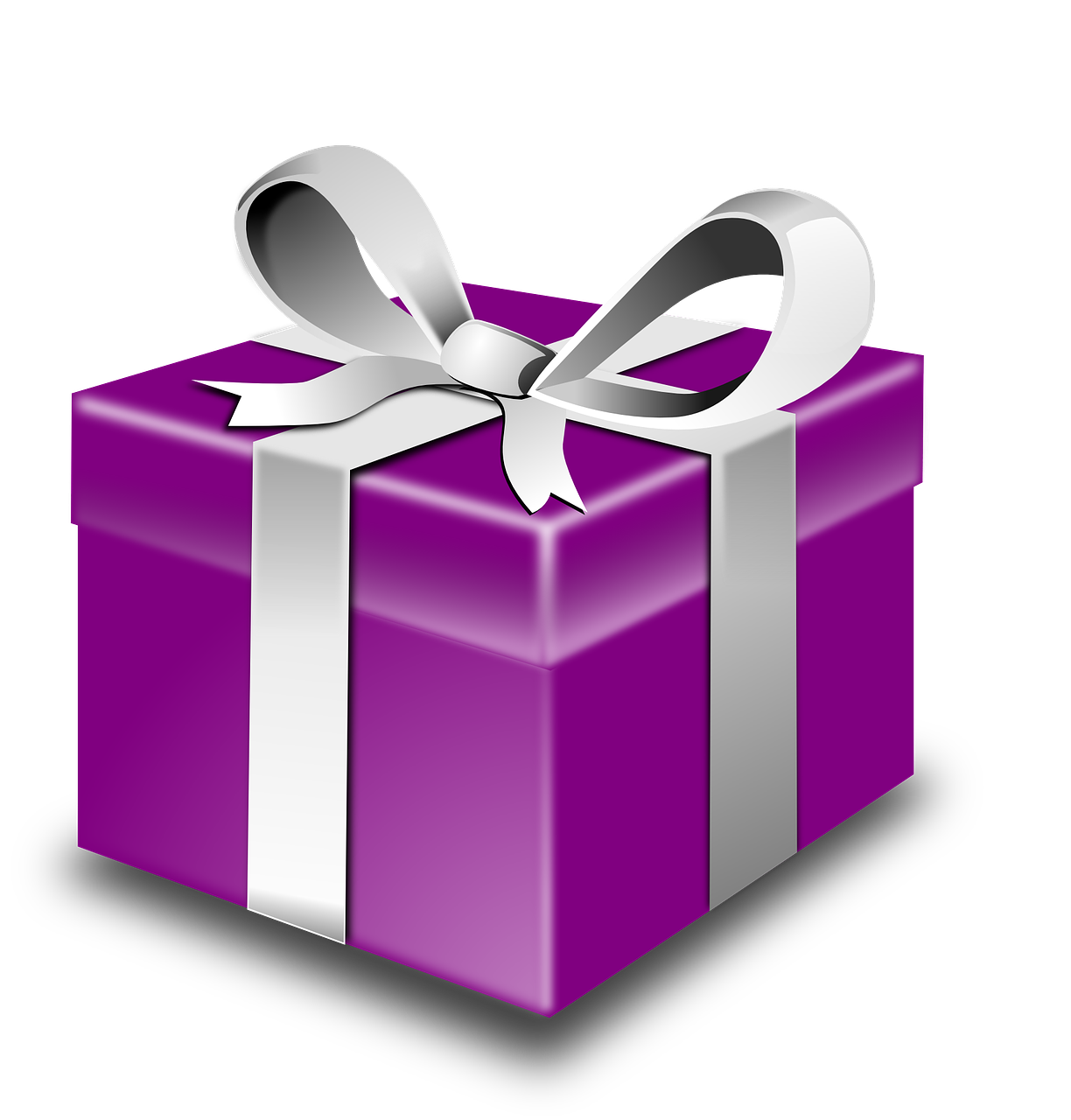 gifts, wrapped, purple