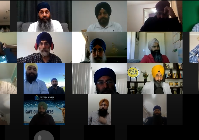 Online Conference held in Australia supporting Farmers protesting against Agri Bills in India