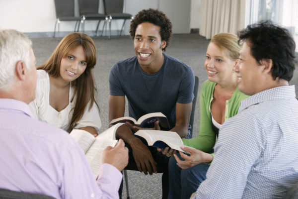 Meeting Of Bible Study Group