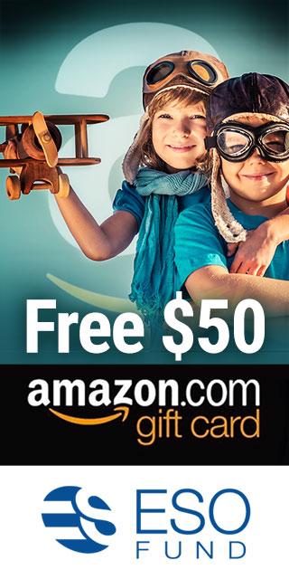 Free $50 Amazon gift card for referrals