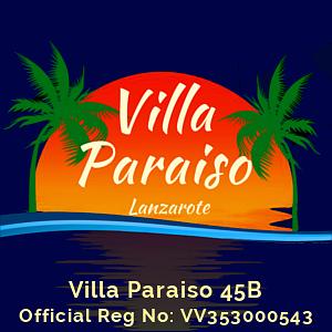 Villa Paraiso Reg No:VV353000543