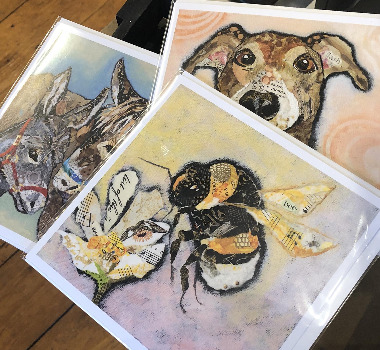 The Farthing Gallery Dawn Maciocia Greeting Cards