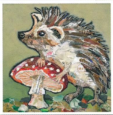 Dawn Maciocia Hedgehog card