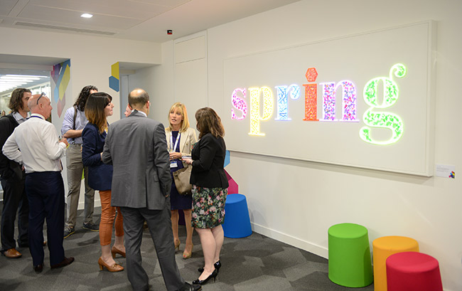 KPMG - CAST RESIN LIGHTS FOR 'SPRING' LAUNCH - COMMISSIONED WORK