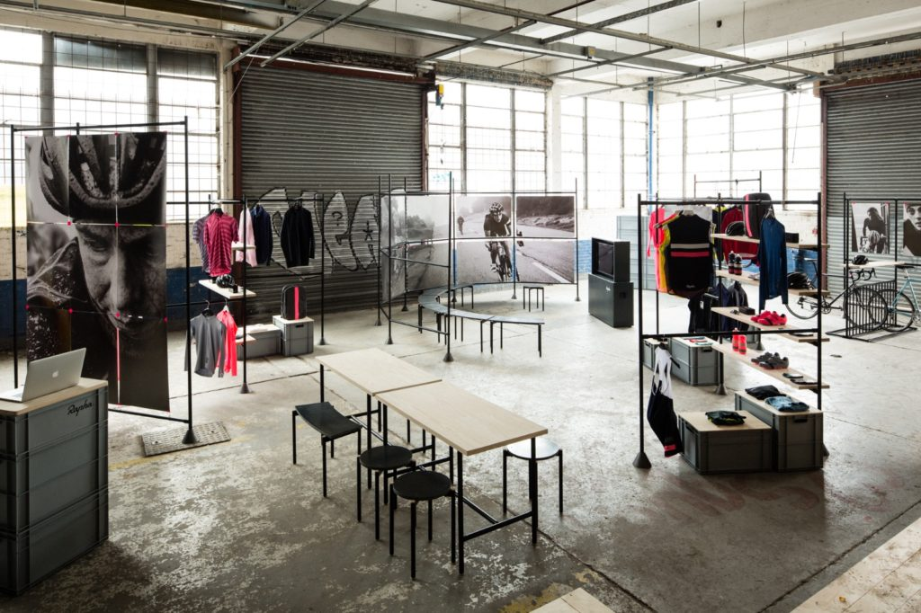 RAPHA SHOPS FOR TOMAS ALONSO - FABRICATION WORK