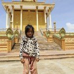Girl at Udon Monastery, Phnom Udon, Udong, Cambodia. Photo by Stuart Forster.