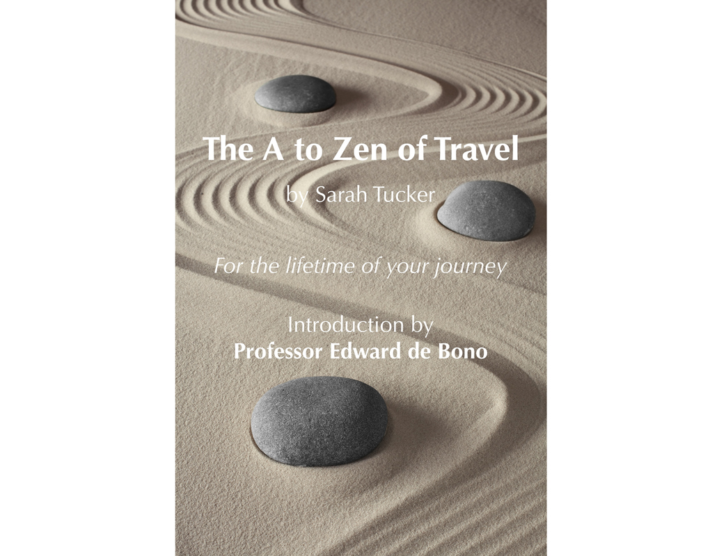 Cover of The A to Zen of Travel by Sarah Tucker.