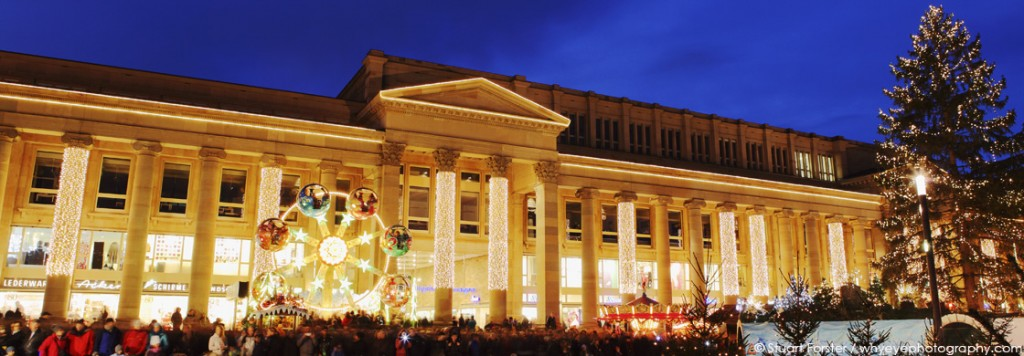 The Christmas Market in Stuttgart, Germany. Photo by Stuart Forster/whyeyephotography.com.