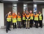 BGTW members touring Gatwick airport