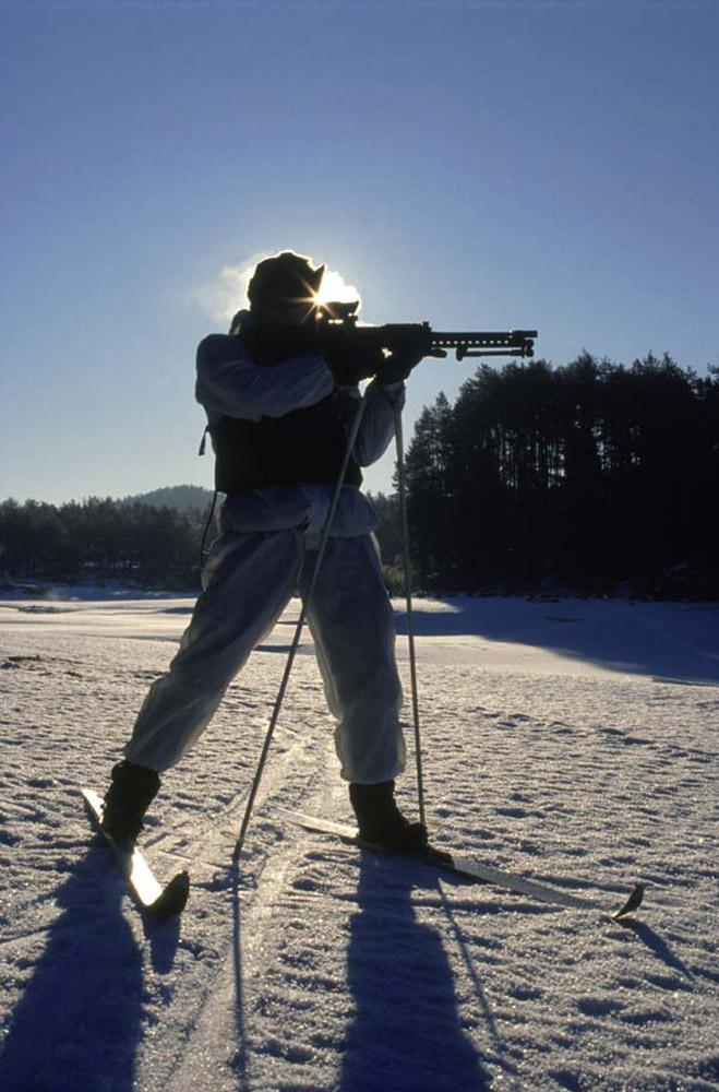 Winter training in Norway
