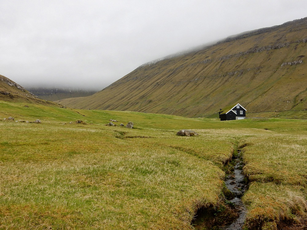 Remote house by Kirsten Henton.