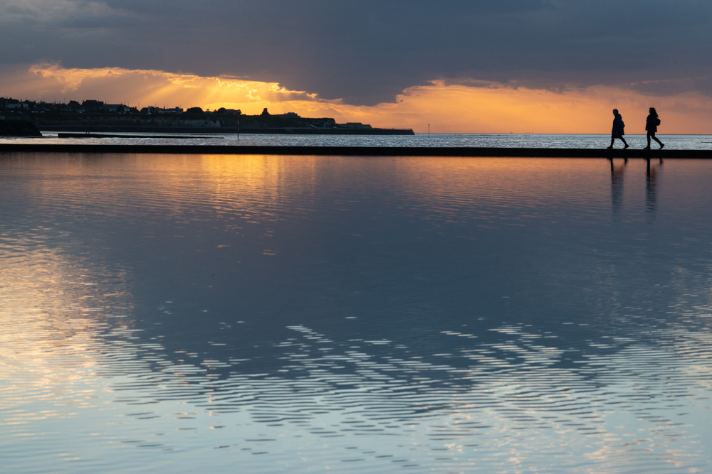 Diana Jarvis photographed a tidal pool at Margate, Kent
