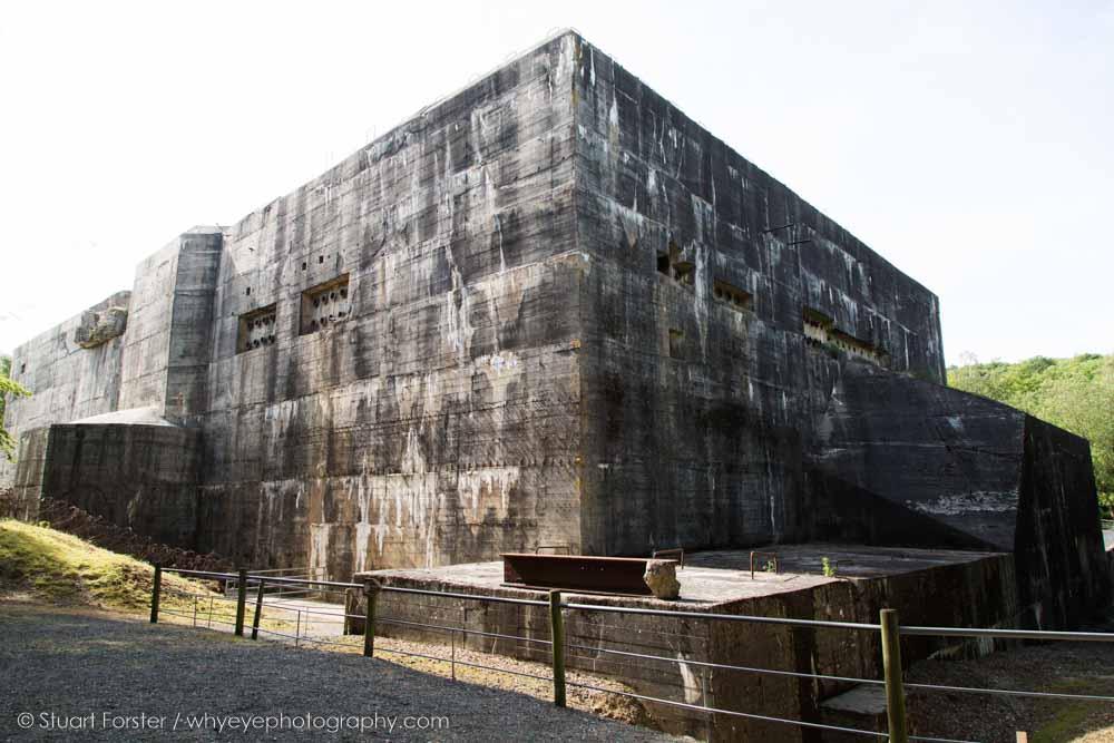 The Blockhaus d'Éperlecques, a World War Two bunker in northern France