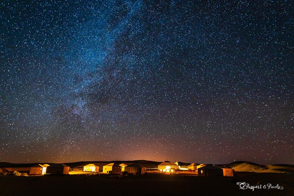 Merzouga Desert Camp in Morocco by Bella Falk