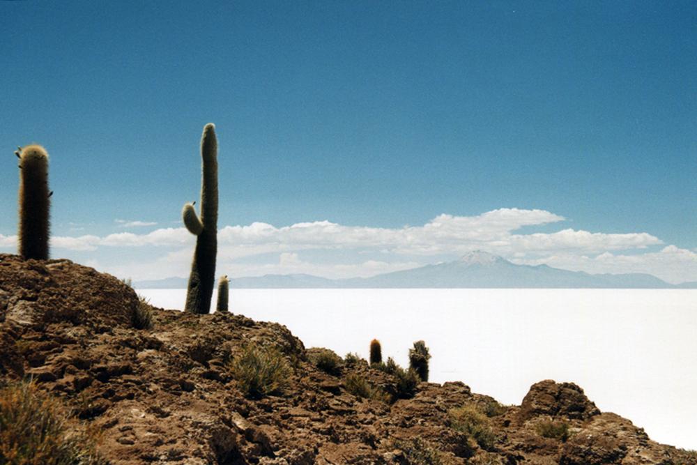 A desert landscape by John Malathronas.