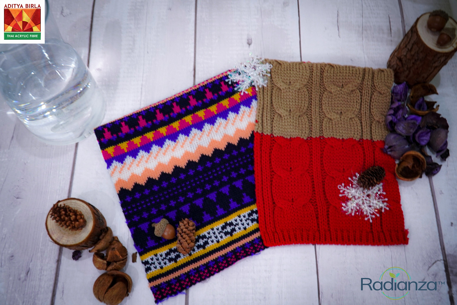 Radianza™ Textile Collection by Germany Based Designer