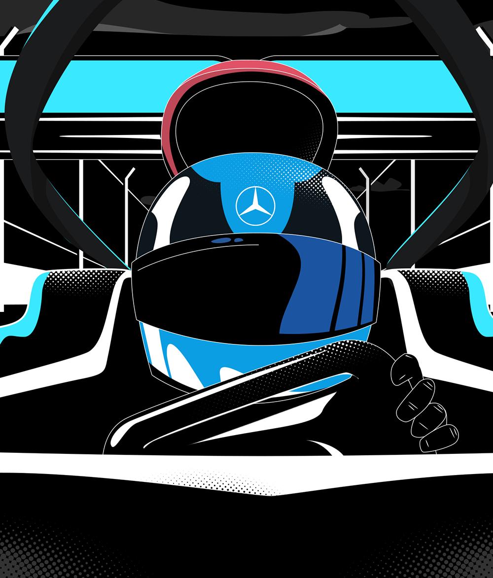 Mercedes // F1 Instagram GP