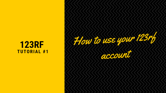 Using Your 123RF Account