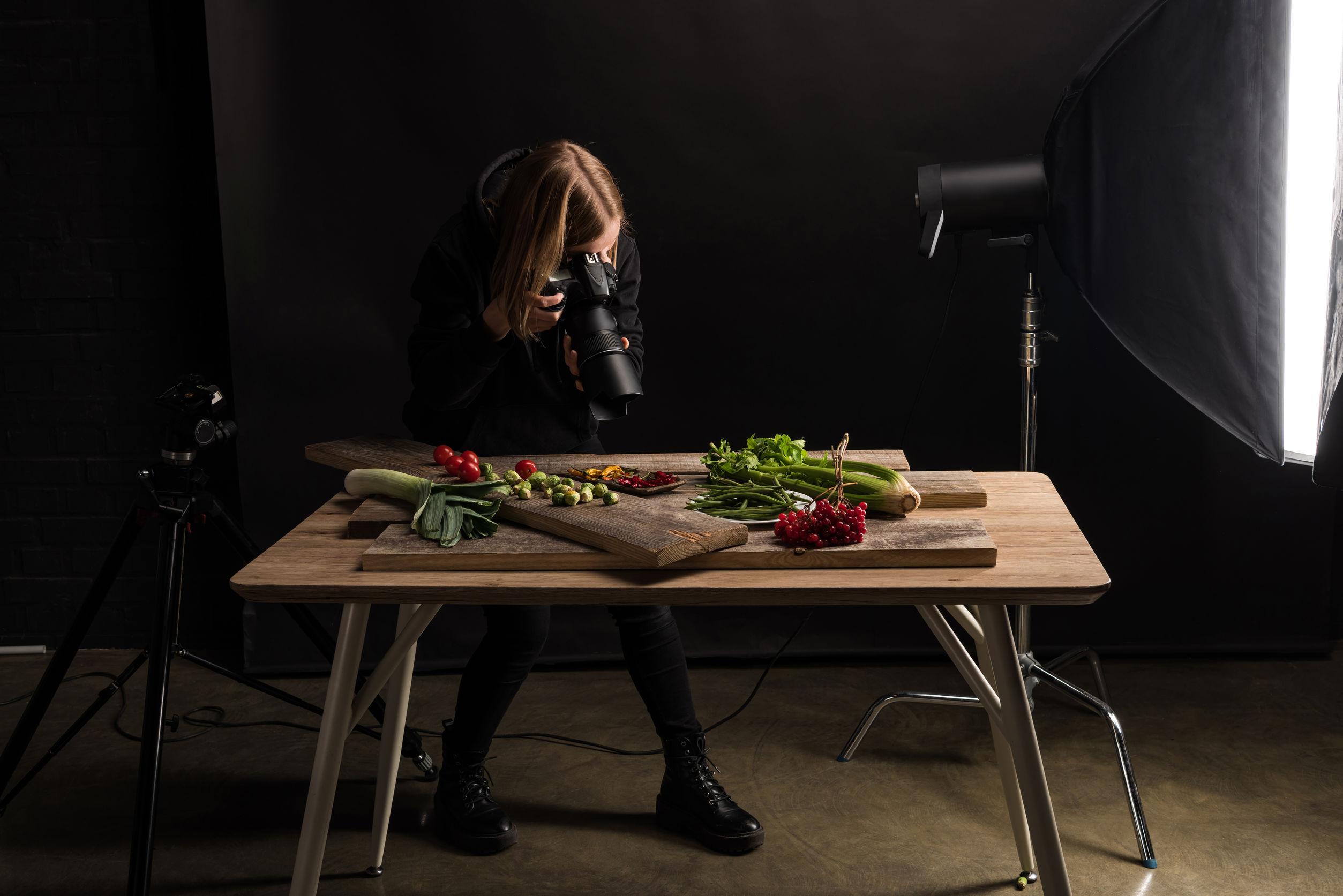 How To Build A Food Photography Setup