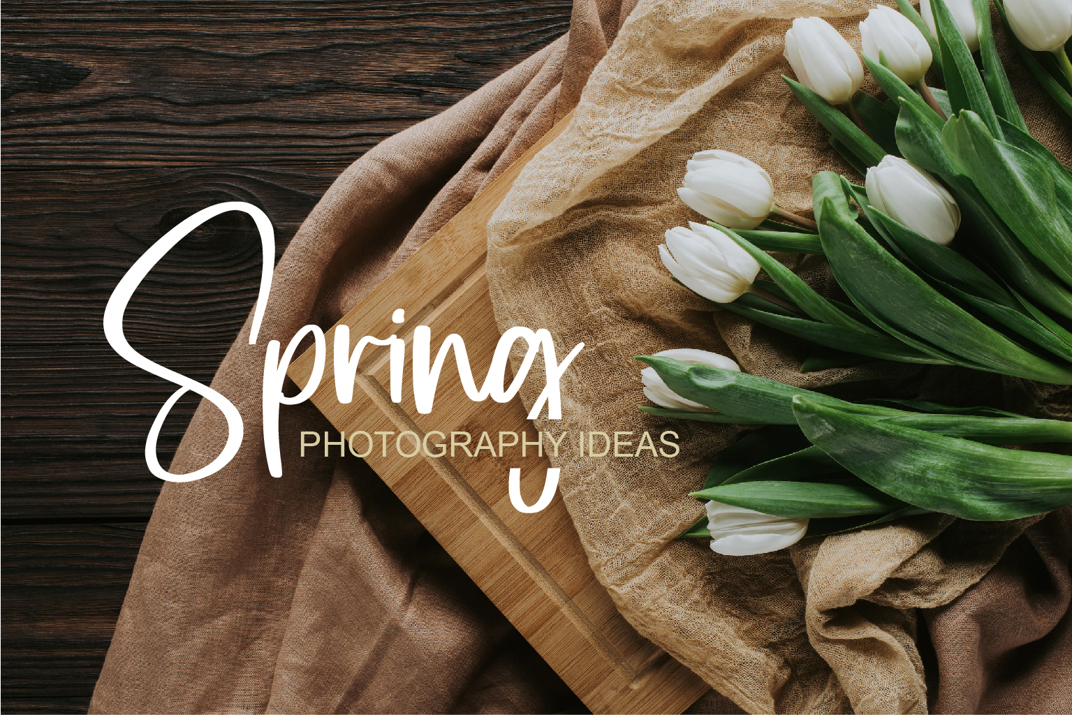 5 Spring Photography Ideas You Won't Wanna Miss Out