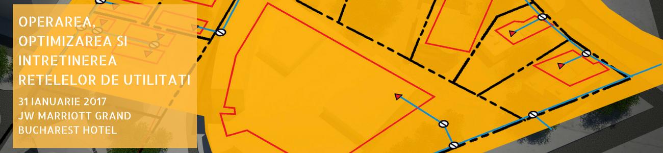 Operarea, optimizarea si intretinerea retelelor de utilitati slider