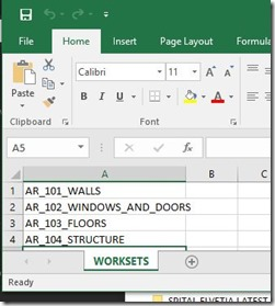 Excel-Workset