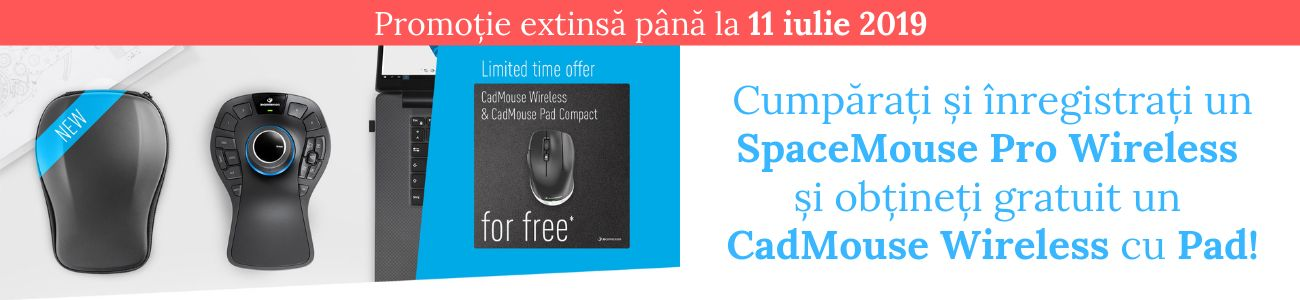 SpaceMouse Pro Wireless extend Promo landing page