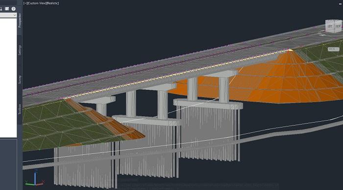 Pod importat in Civil 3D