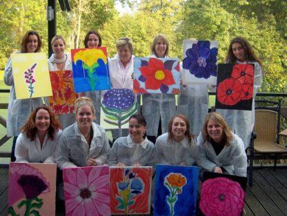 Kleur bekennen in bloemen