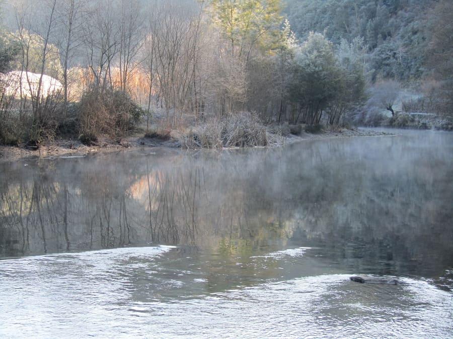 River Alva in winter