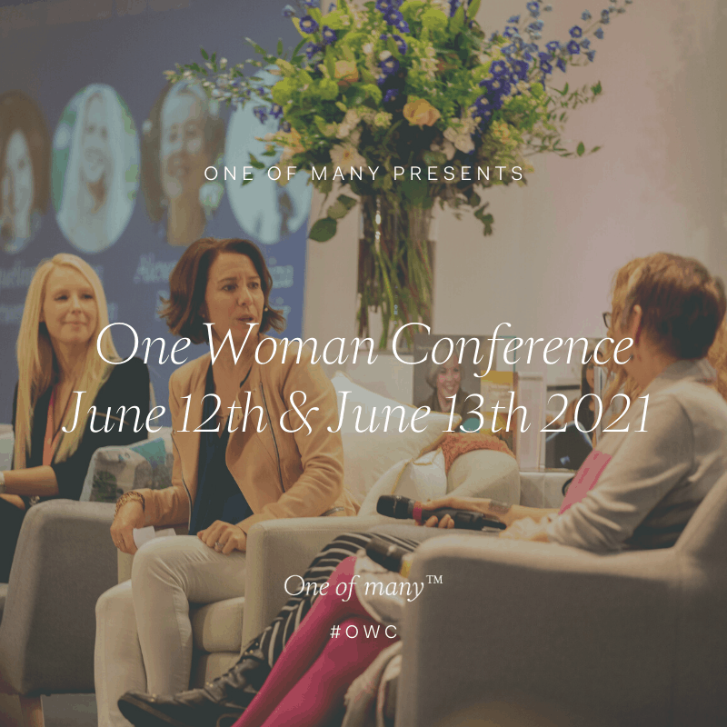 One Woman Conference 2021 panel discussion