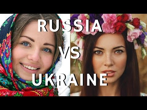 Ukrainian girls vs Russian girls