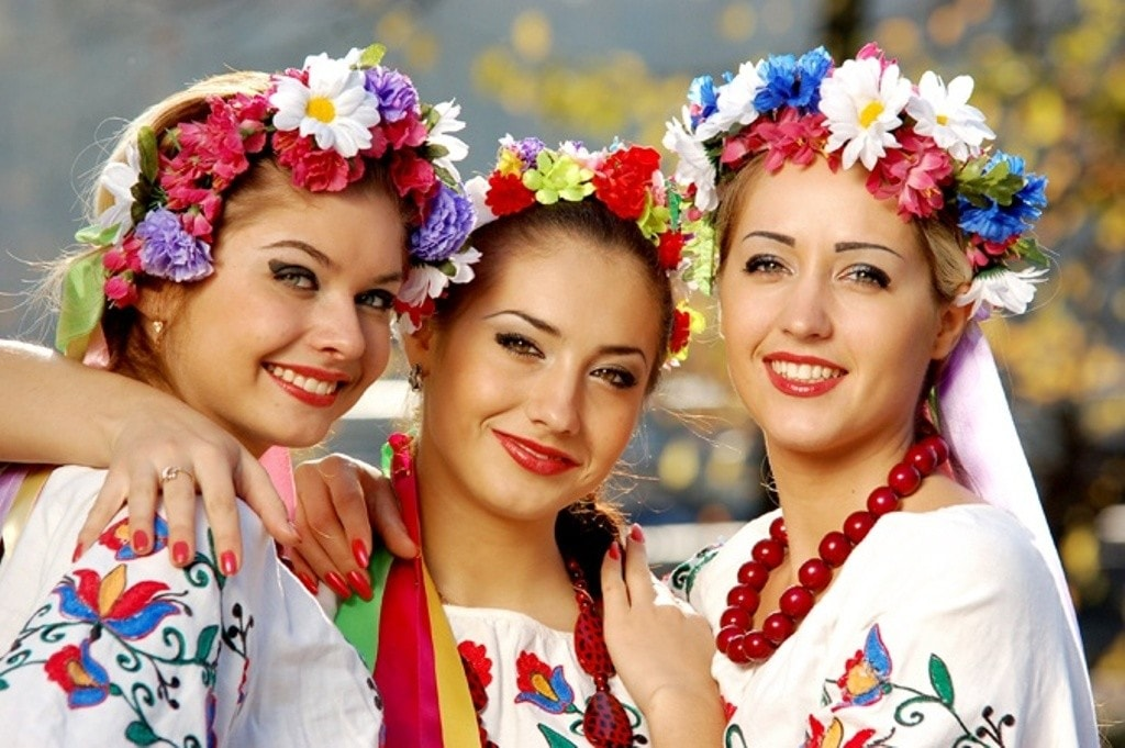 Beautiful Ukrainian girls