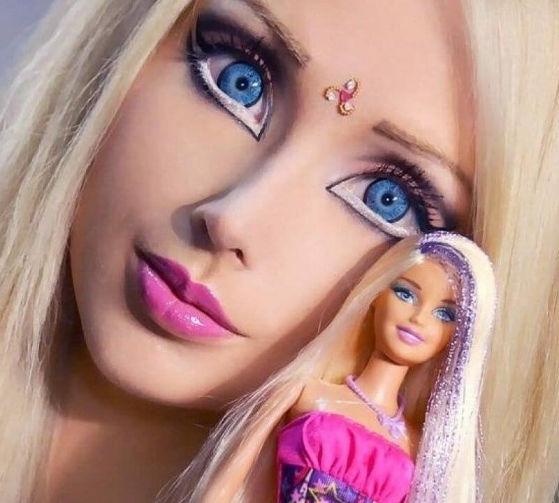 Ukrainian girl who looks like Barbie