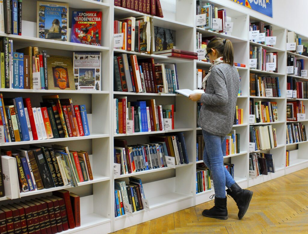 How Do Ukrainian Girls Spend Their Leisure Time? A girl reading a book