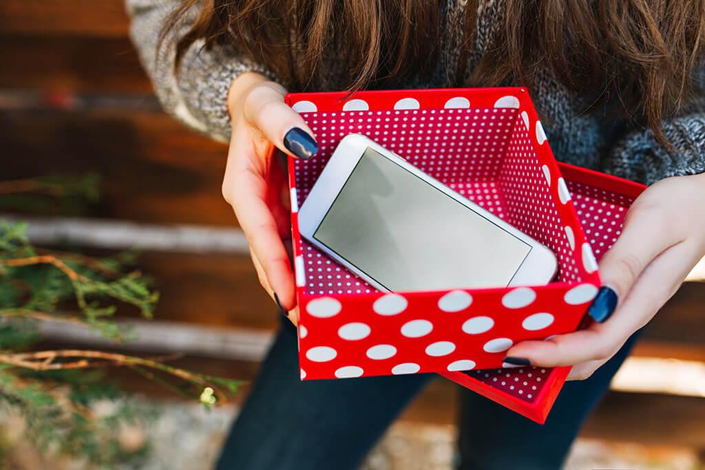 Phone gift