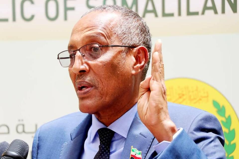 """Madaxweynaha Somaliland """"Annaga ma diidanin Soomaalinimo""""."""